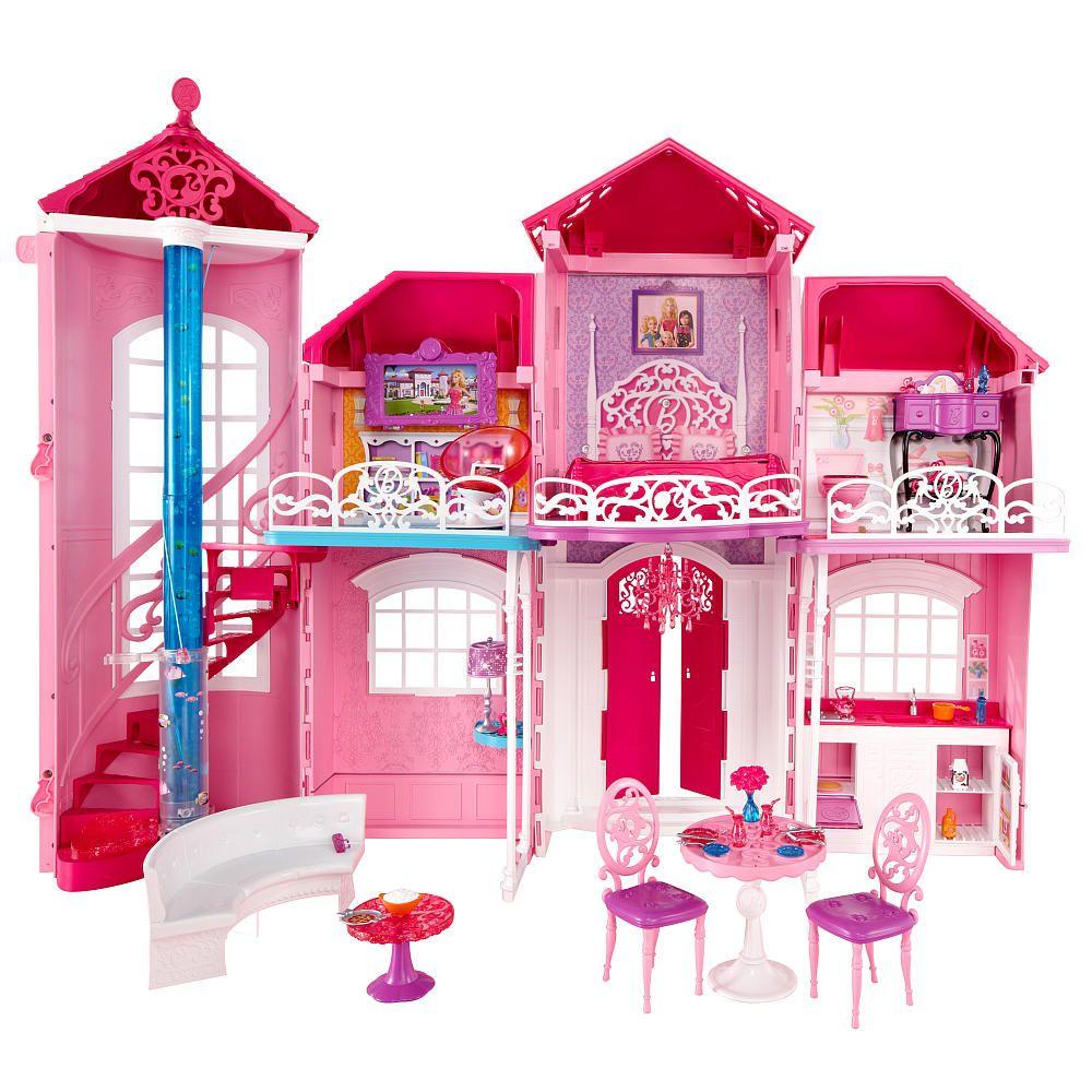 Barbie Malibu House - Mattel - Toys \