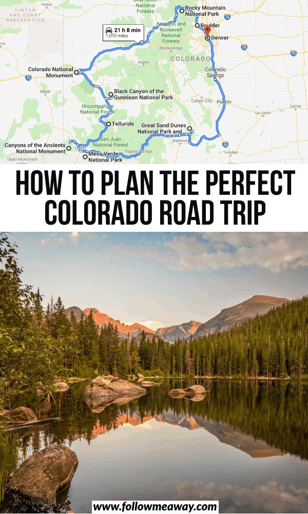 The Perfect Colorado Road Trip Itinerary You Shoul
