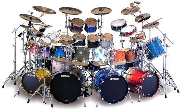 Whole Lotta Colorful Drums