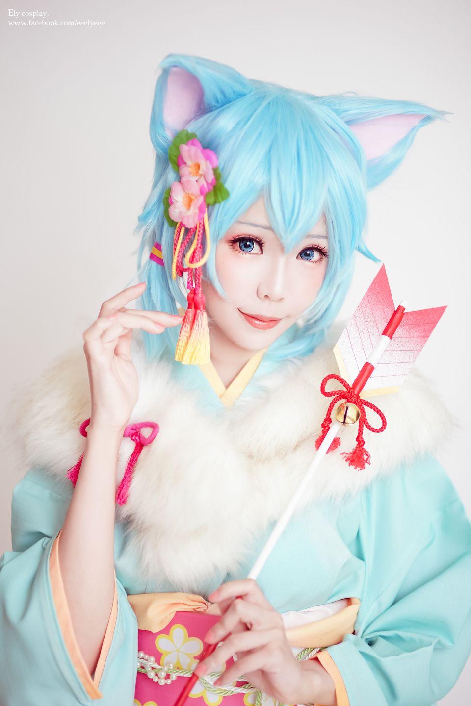 Sinon - Kimono ver. - Ely(E子)...
