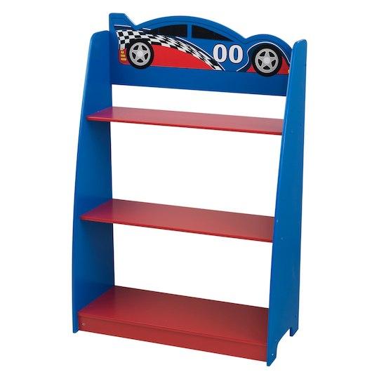 Kidkraft Racecar Bookshelf Bookcase Furniture Office Furniture Accessories