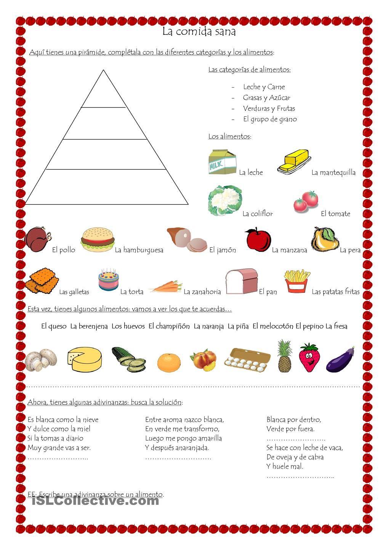 material didactico para primaria comida y mandatos pir mide de los alimentos piramide. Black Bedroom Furniture Sets. Home Design Ideas