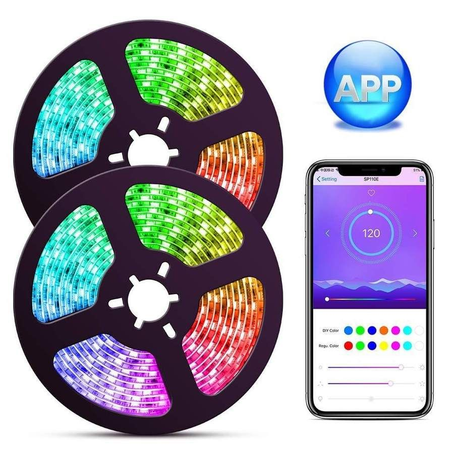 32ft W/ FREE WiFi Adapter BUNDLE & SAVE Color changing