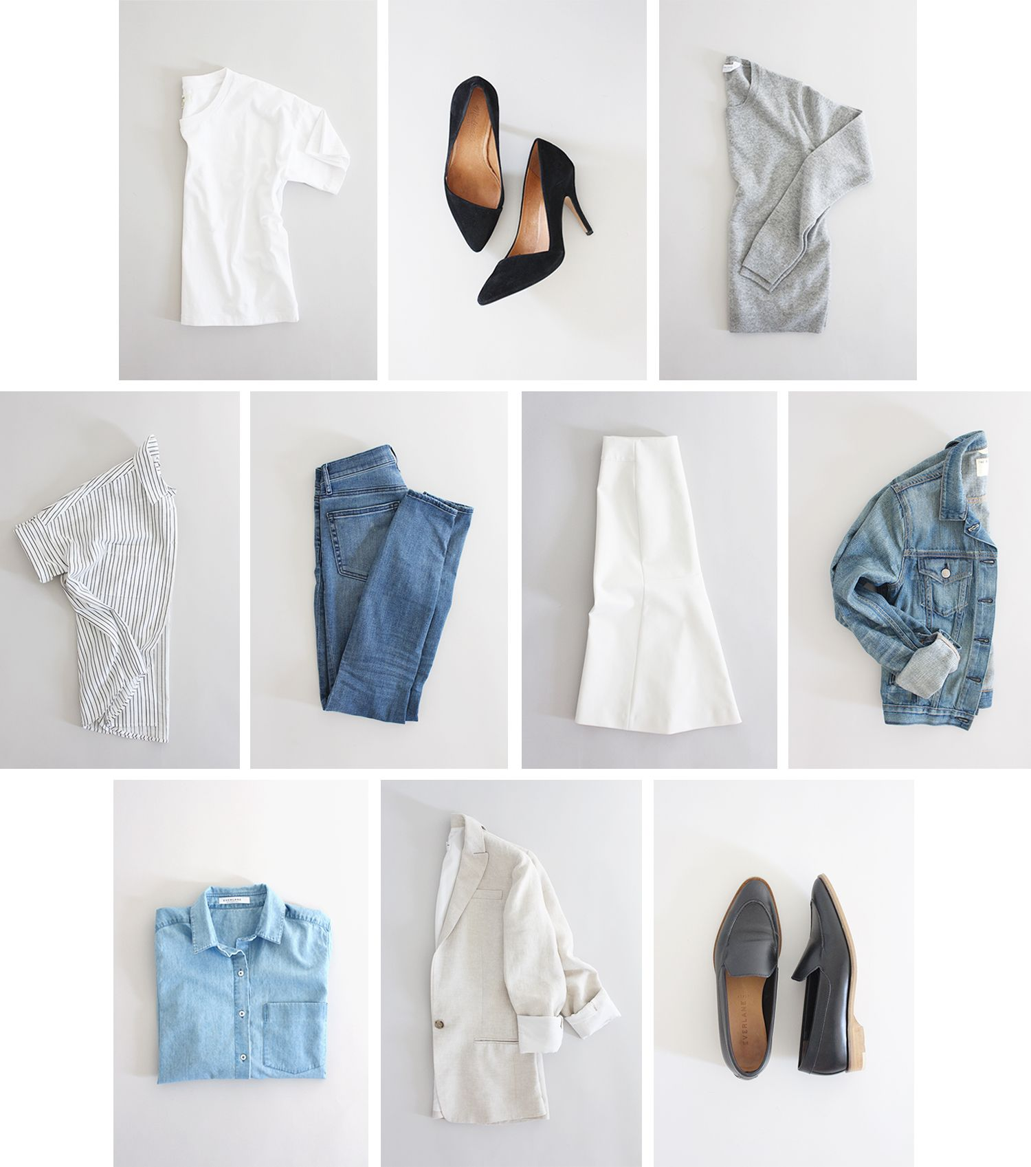 10 X 10 Challenge Recap Capsule Wardrobe Minimalist Wardrobe Wardrobe