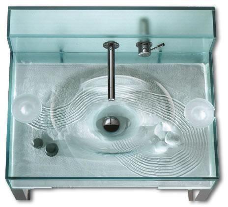 Kristallux Moody Aquarium/Zen Sink