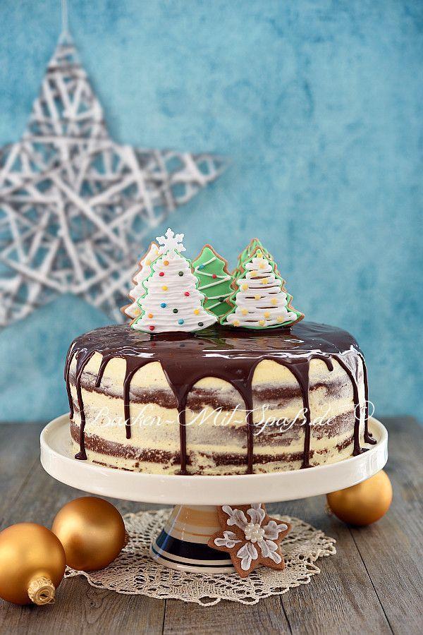 Lebkuchen-Torte #cookiedesserts
