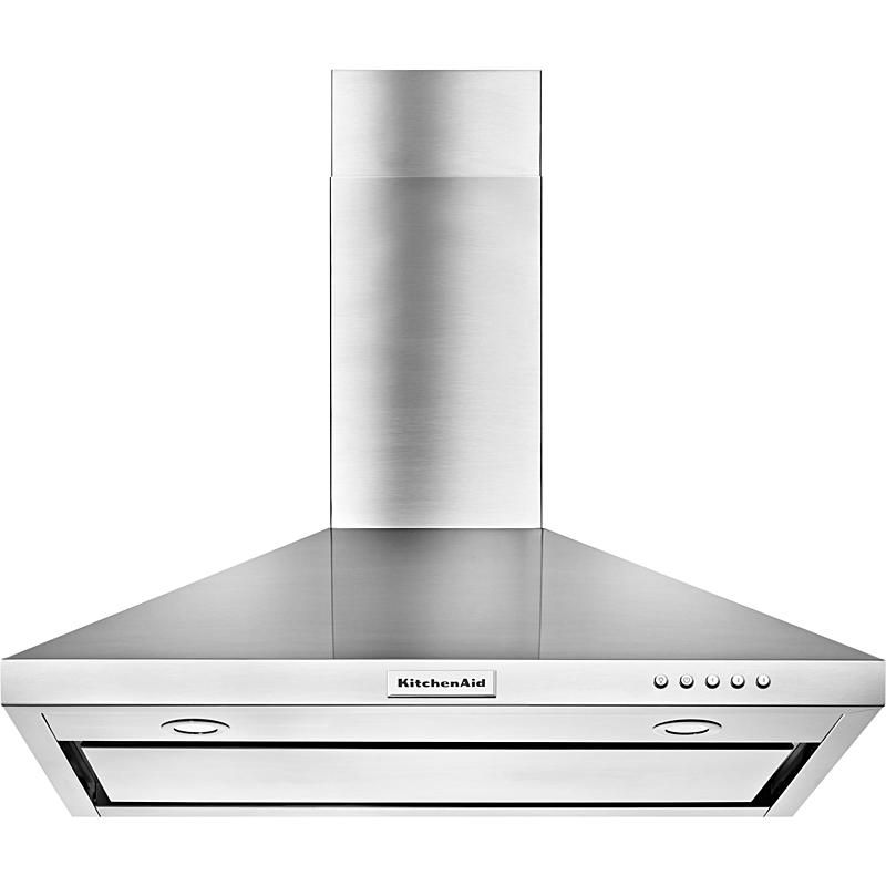 Kitchenaid Kvwb406dss 36 Wall Mount Canopy Range Hood W 3 Speeds Stainless Steel Range Hood Wall Mount Range Hood Stainless Range Hood
