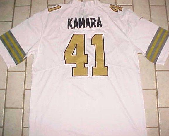 8ce36970a3e Alvin Kamara #41 New Orleans Saints NFL NFC South White Gold Black Jersey  XL #Nike #NewOrleansSaints