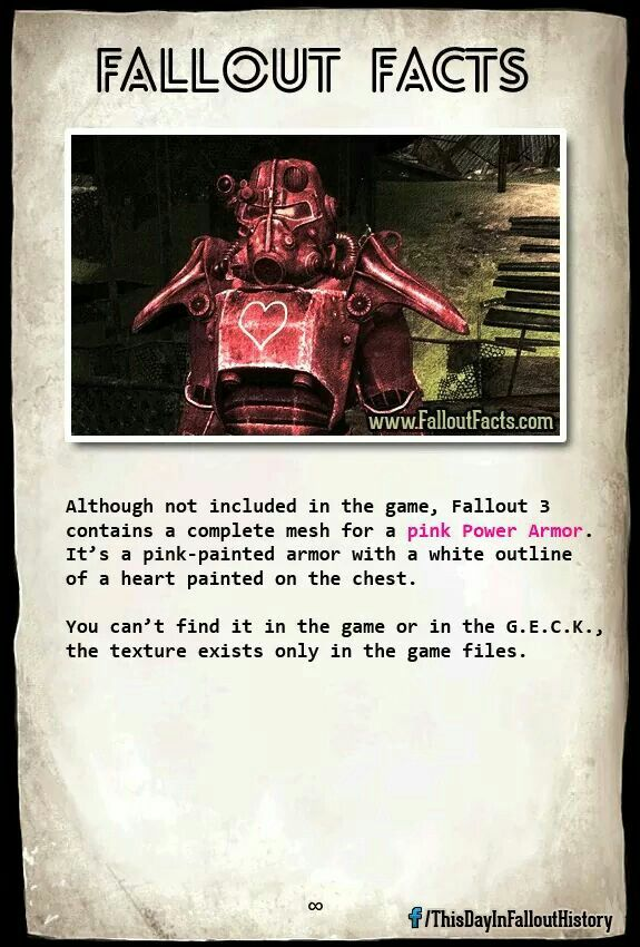 Pin by Gaydrien on Fallout | Fallout facts, Fallout lore, Fallout 4