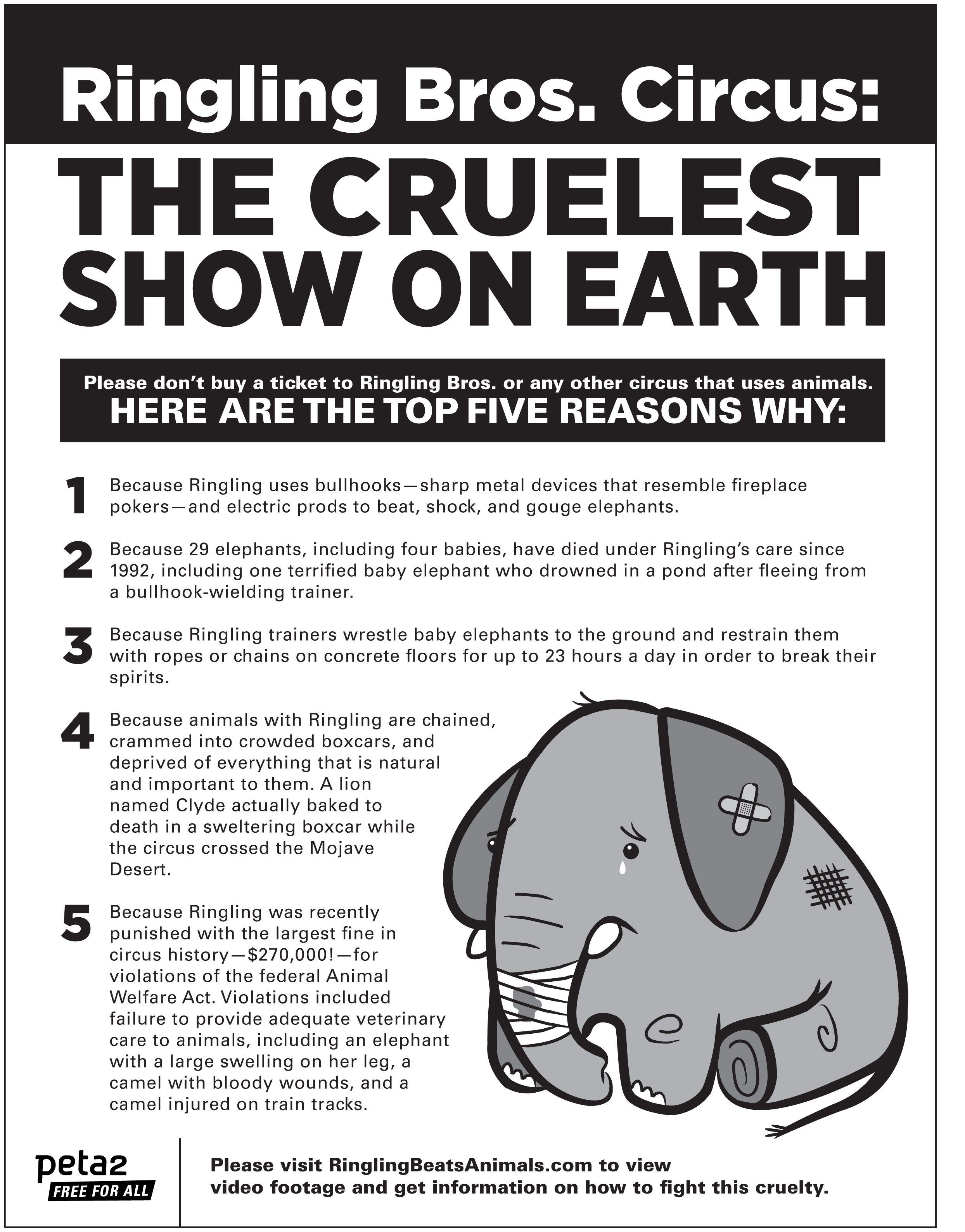 Cirque Du Soleil Meme: Boycott Ringling Bros. Circus, They Abuse Their Animals