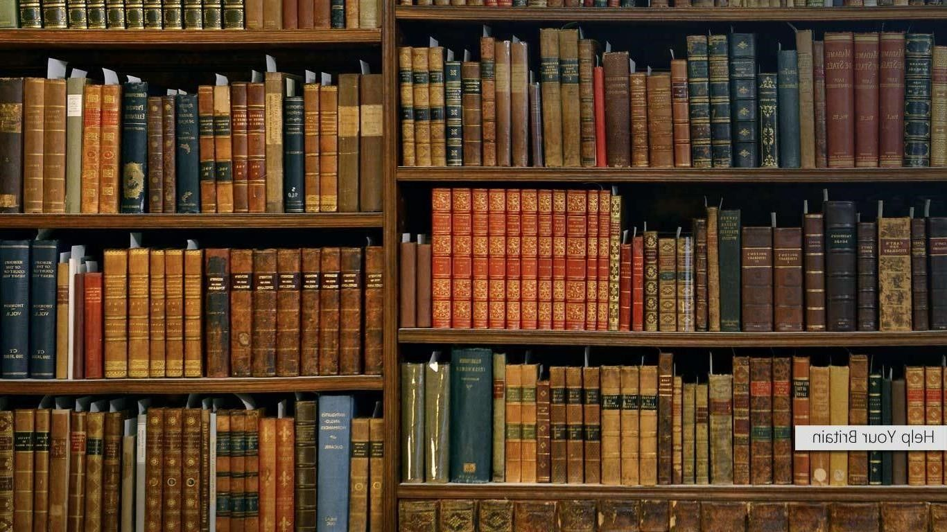 Collection Of Bookshelf Wallpaper On Hdwallpapers 500 500