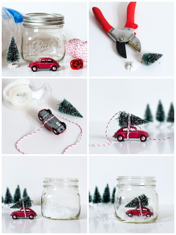 ▷ 1001 + Ideen und Anleitungen zum Thema Basteln zu Weihnachten #kleineweihnachtsgeschenkebasteln