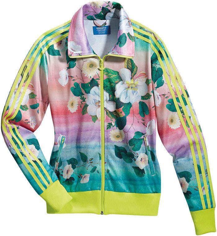 cfbfb5843c0 Adidas Originals x Farm pineapple jacket Via www.nenz.net | I T E M | Adidas,  Adidas originals, Fashion