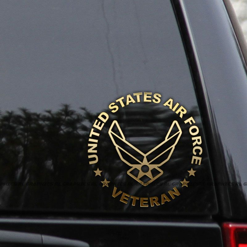 I Love My Veteran TOOL BOX HELMET BUMPER STICKER DECAL Military Helmet
