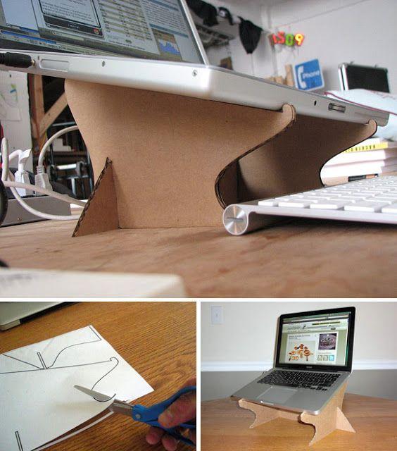 Para Laptop De Carton Plantillas Zona ManualidadesMesa Con CxBQtsdohr