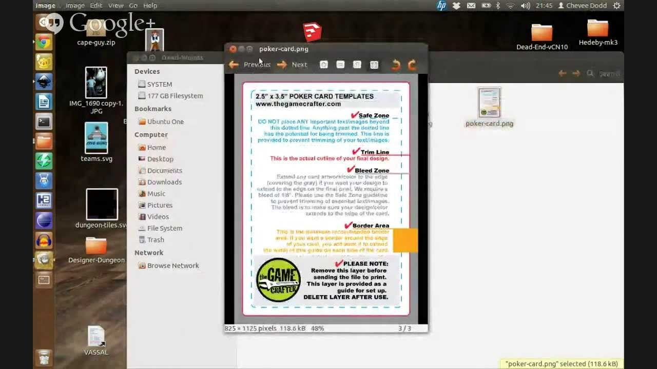 Card Layout Inkscape And The Game Crafter Card Layout Layout Crafters