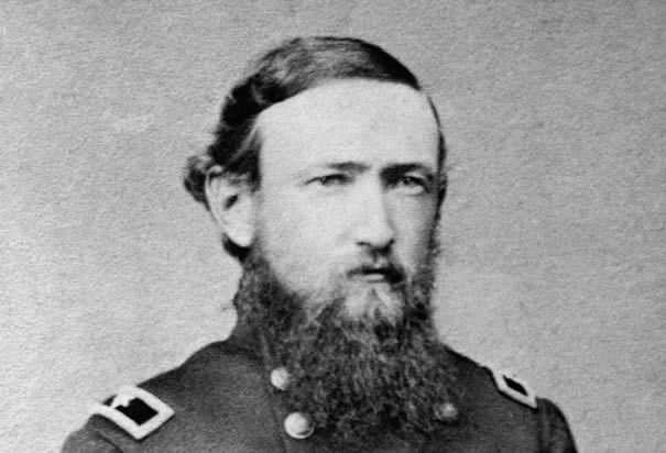 General Benjamin Harrison who would later become the 23rd President of the United States.