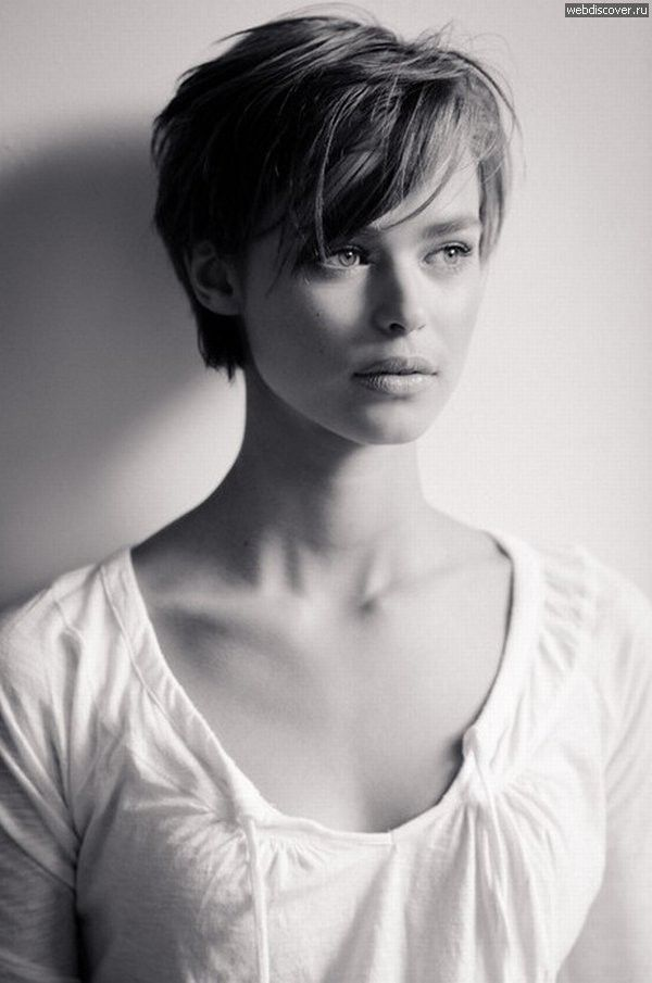 Birgit Kos Imgur Dutch Elite Models Short Hairstyle