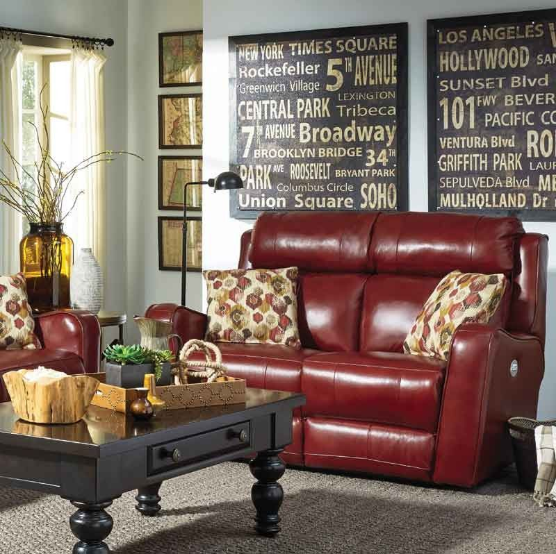 Southern Motion First Class Power Headrest Double Reclining Loveseat With 2 Pillows Irecliner Power Reclining Loveseat Southern Motion Love Seat