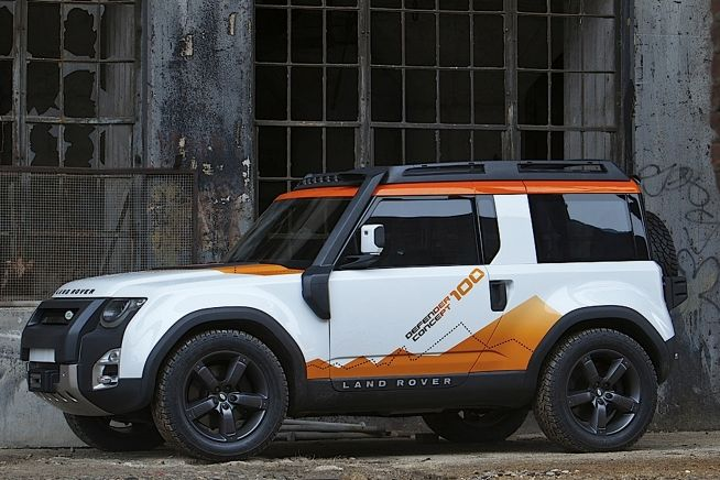 Land Rover Dc100 Concept Spielzeug
