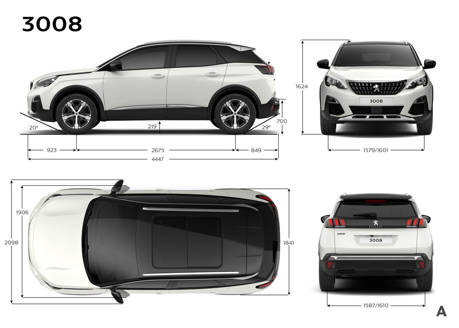 Peugeot Reveals Qashqai Rivalling 3008 Suv 39 Pics Carscoops Peugeot 3008 Peugeot Cars Organization