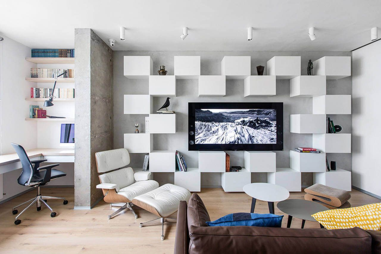 Apartment in Moscow by Megabudka | Moscow, Flats and Interiors