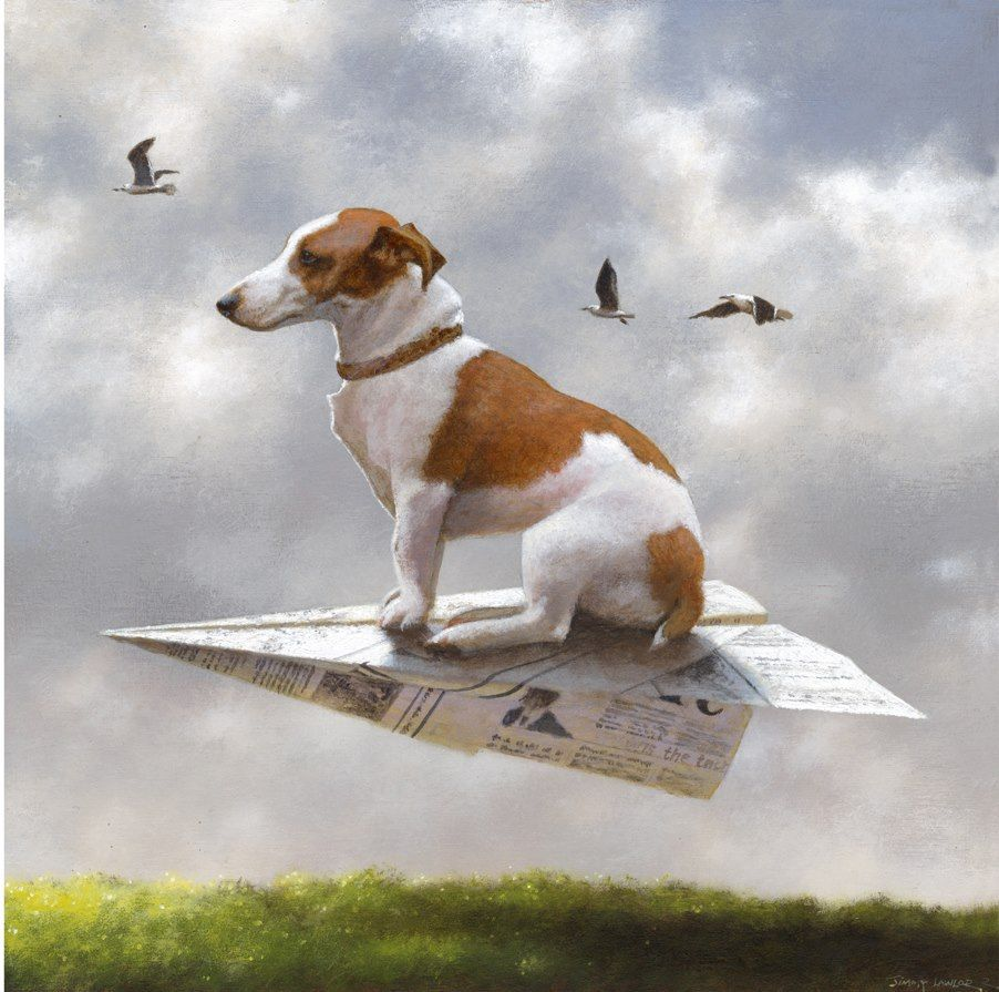 Jimmy Lawlor 1967 Surrealist Painter Surreal Art Dog Paintings Dog Art