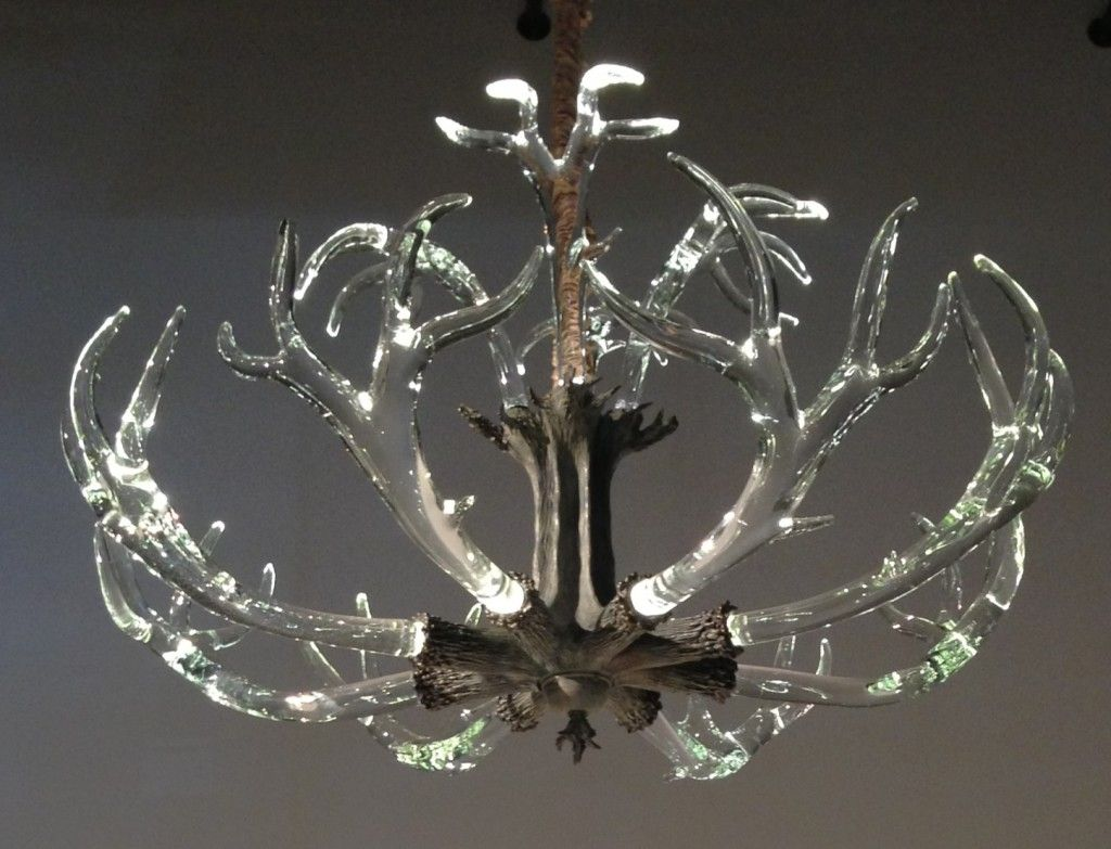 the crystal antler chandelier from lawson glass - Antler Chandelier