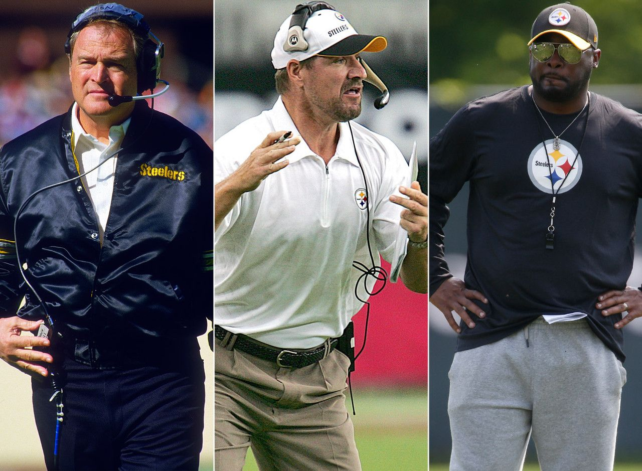 Image result for pittsburgh steelers head coaches list