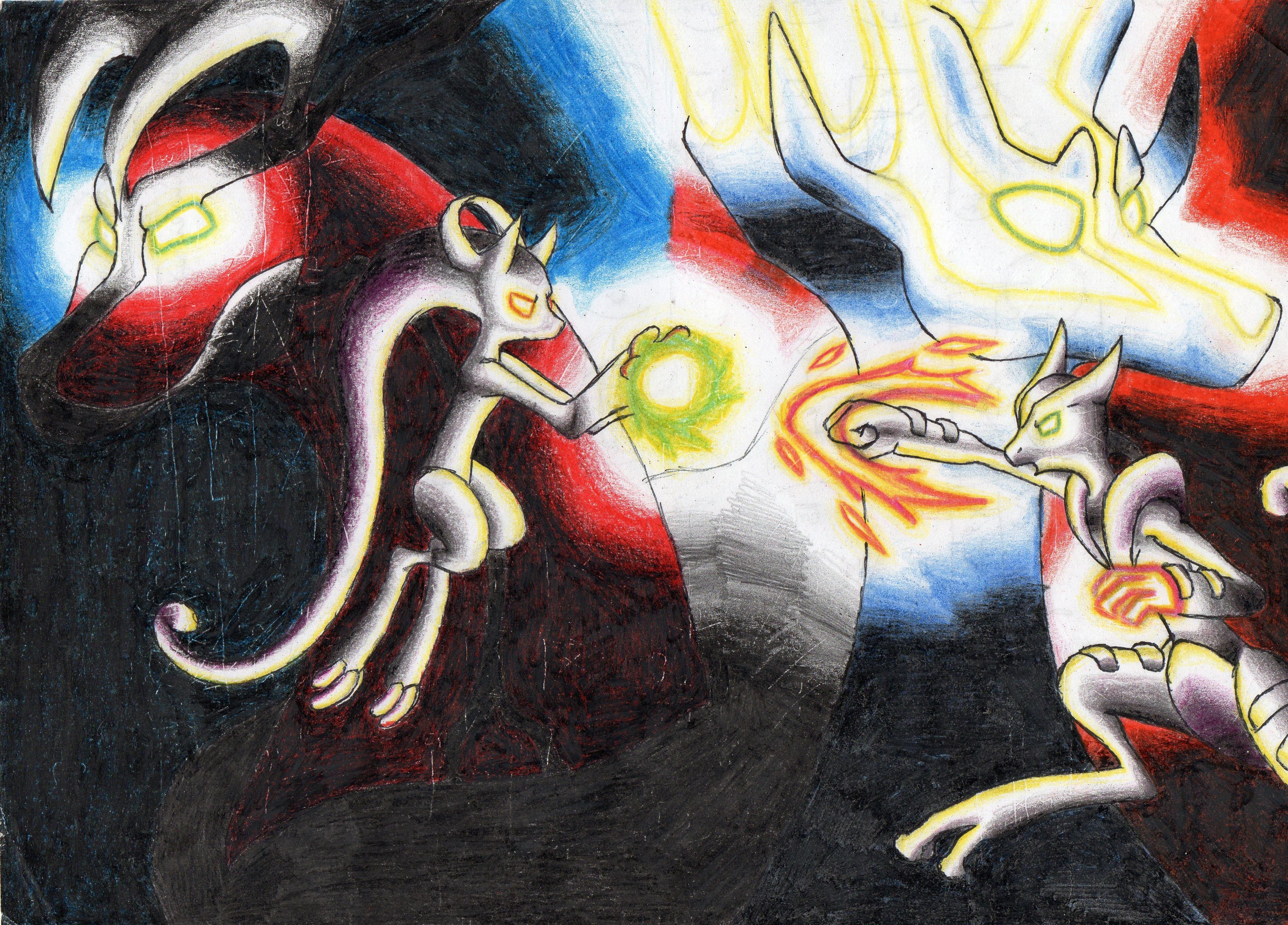 MegaMewtwo Y vs MegaMewtwo X