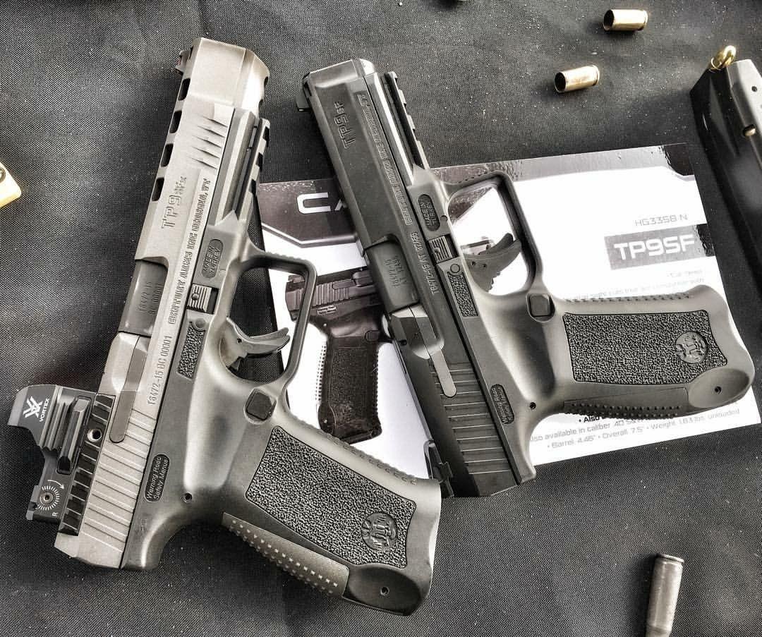 New Century Arms Canik TP9SFX and TP9SF @hankstrange #shotshow
