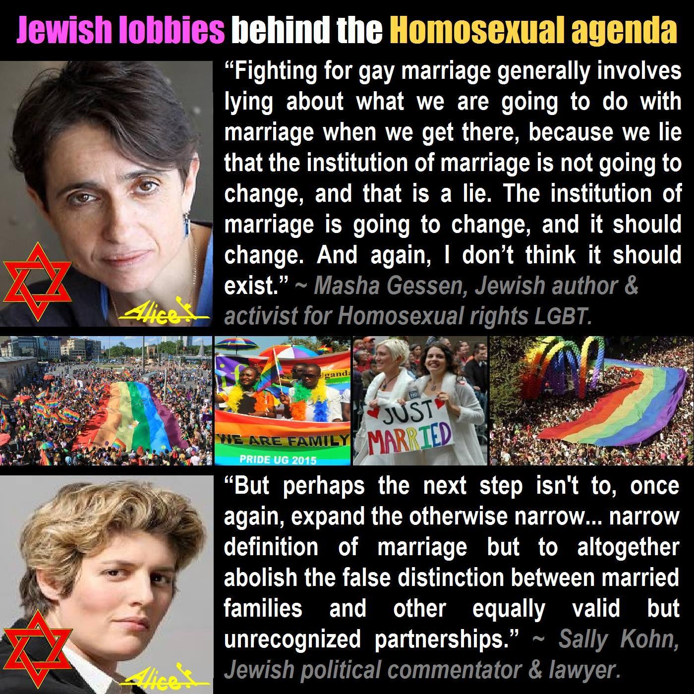 Satanic homosexual agenda