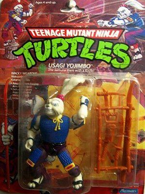 Teenage Mutant Ninja Turtles Action Figures Usagi Yojimbo Retro