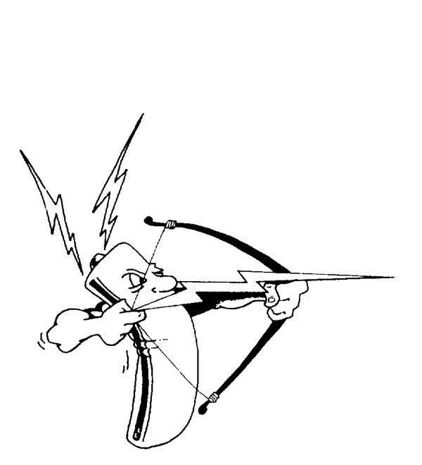 A Battery Shoot A Lighting Bolt Arrow Coloring Page Color Luna Coloring Pages Coloring Pages Inspirational Lightning Bolt