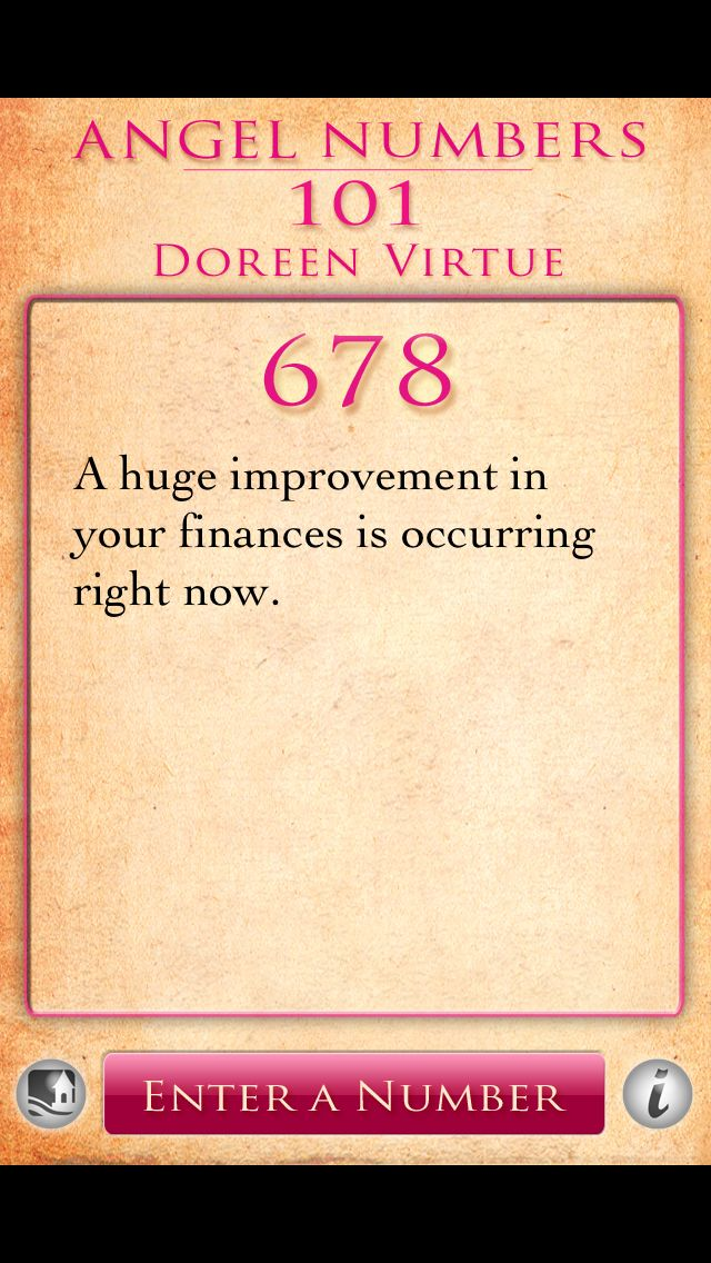 Angel Number 678 | Numerology | Angel numbers, Numerology