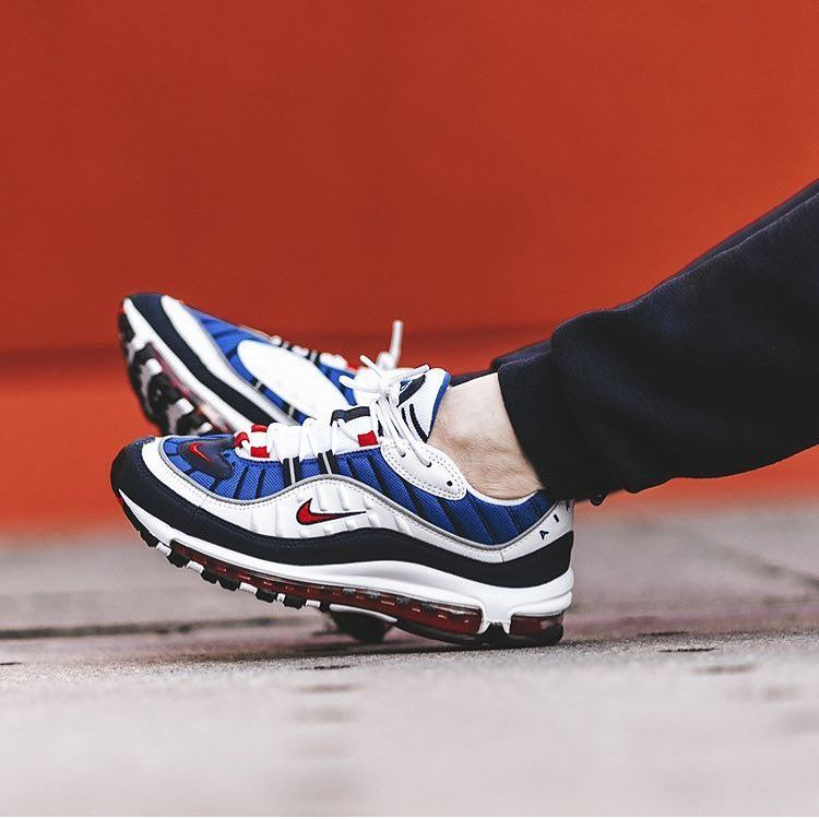 online store ec17a 71335 The  nike Air Max 98 Gundam will be released on January 26th at retailers  like  bstnstore - go get it!  sneakersmag  nike  nikeair  airmax98  am98   gundam
