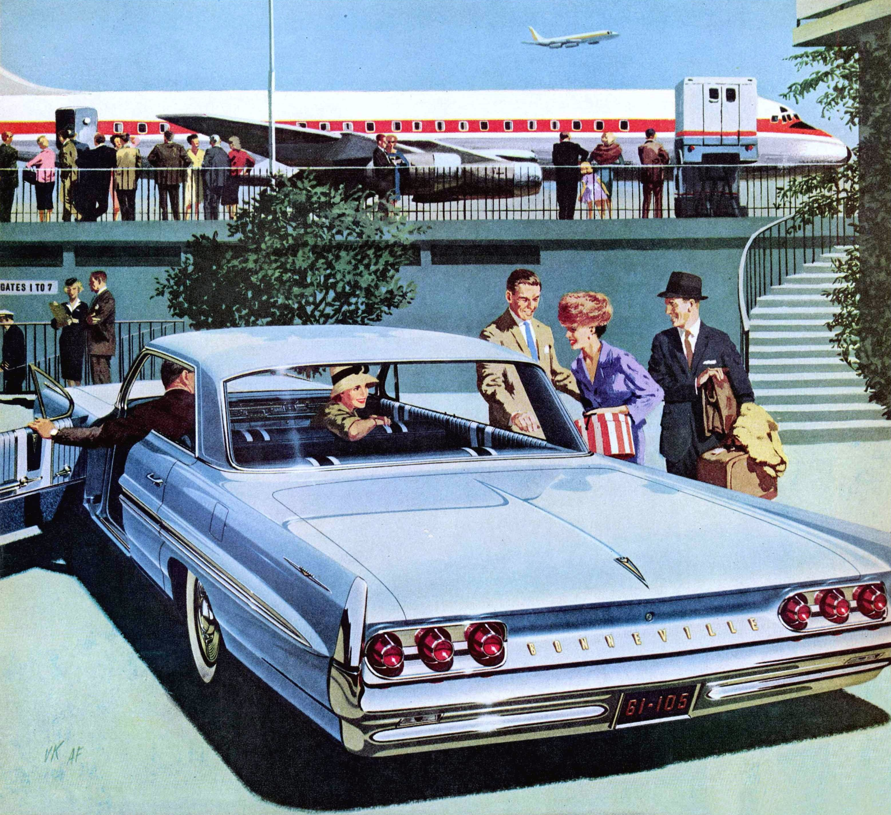 1961 Pontiac Bonneville Vista: Art Fitzpatrick and Van Kaufman