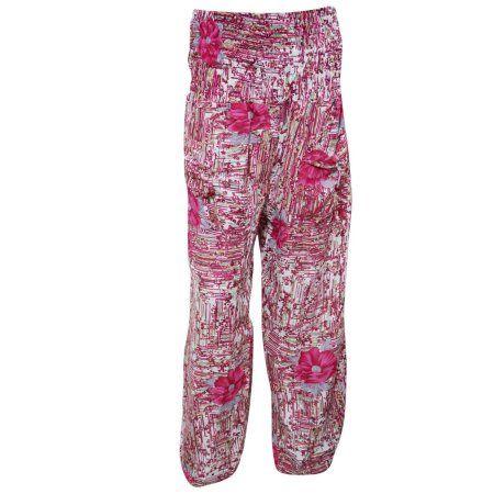 6ef2a23519c1 Mogul Women s Silk Pants Pink Printed Comfort Soft Indian Trousers  https   www.