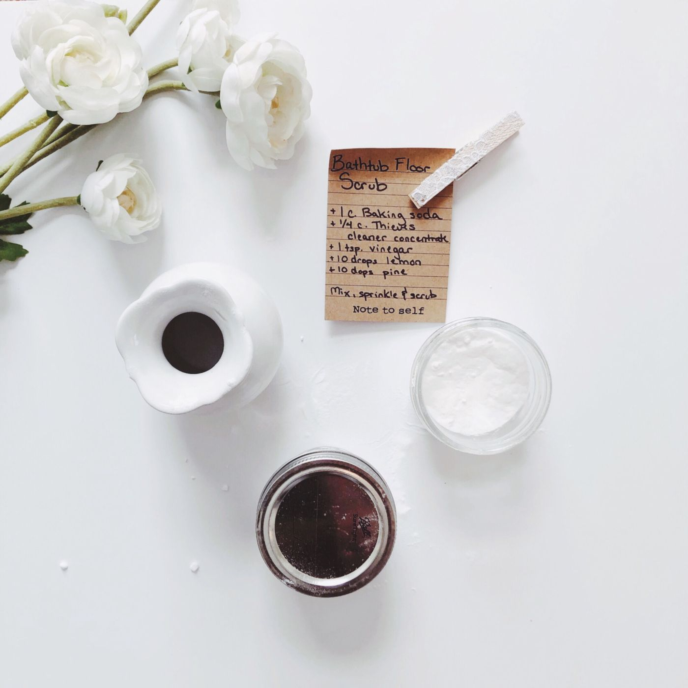 Up on the blog, essential oil DIY recipes like this