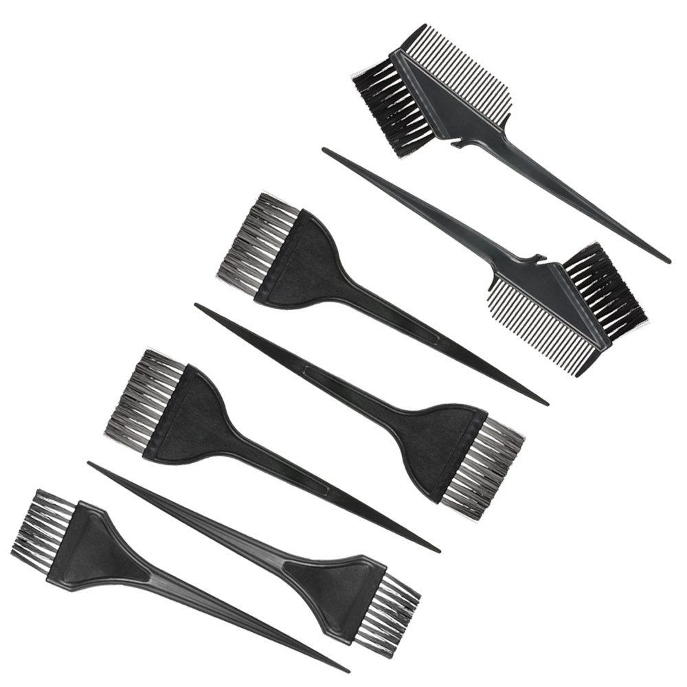 Anself 7pcs Hair Coloring Comb Kit Hair Dyeing Brushes Set Double ...