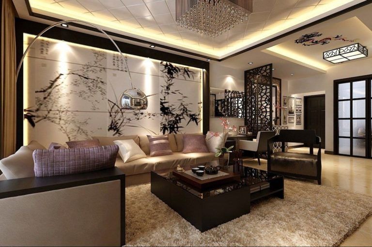 8 Modern Oriental Living Room Interior Source Homify Com Luxury