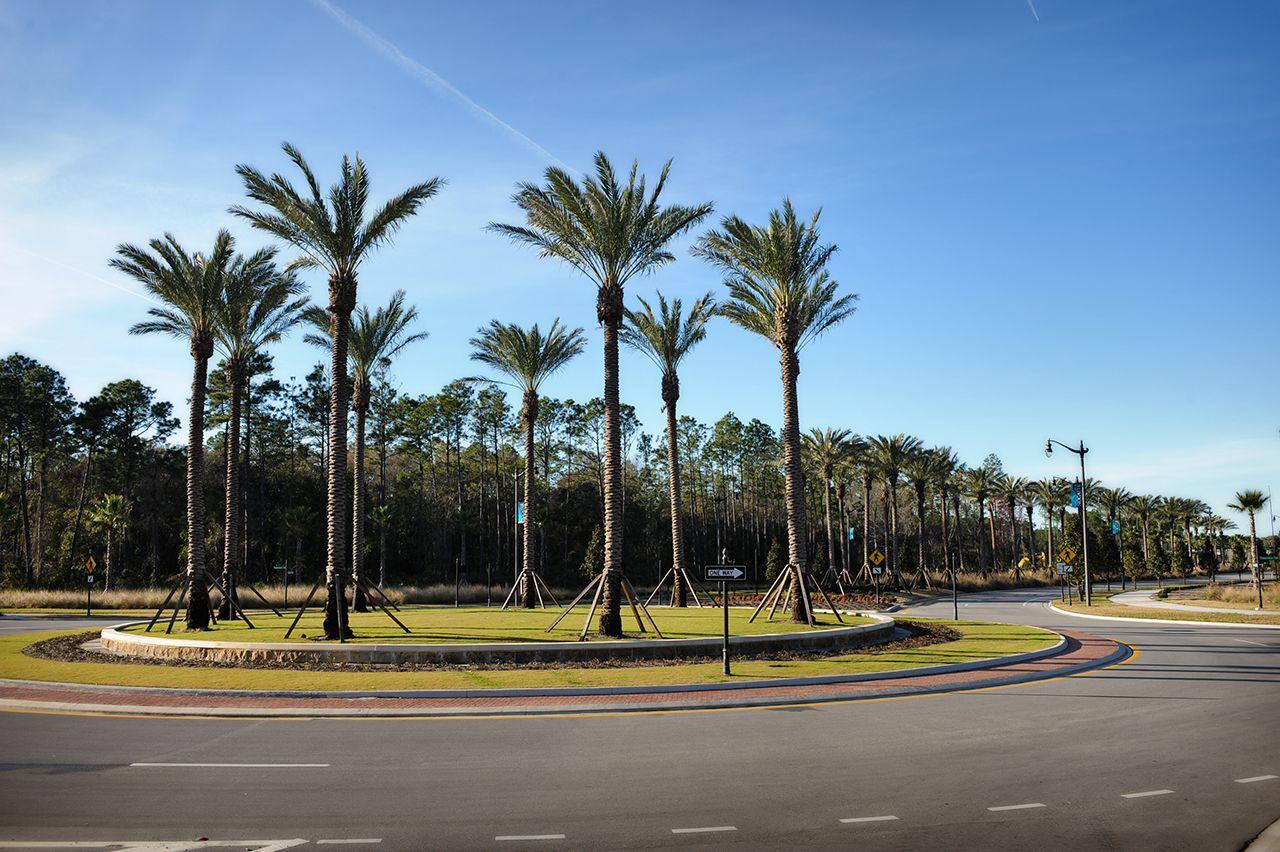 Crosswater Parkway Roundabout Nocatee Etm Inc Jacksonville