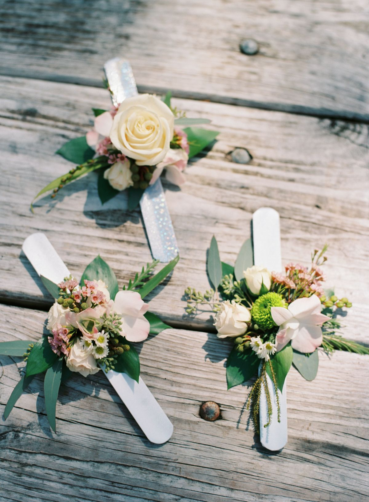 Slap Bracelet Corsages By Epic Arrangements Photo Katbraman