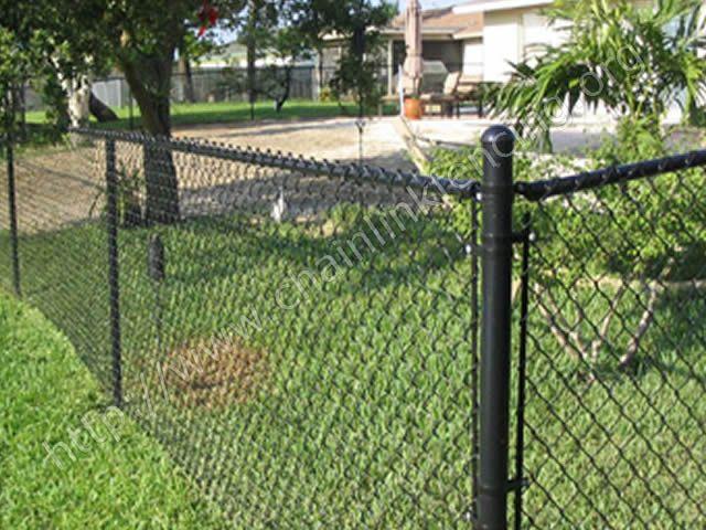 Black Chain Link Fence Black Chain Link Fence Chain Link Fence Painted Chain Link Fence
