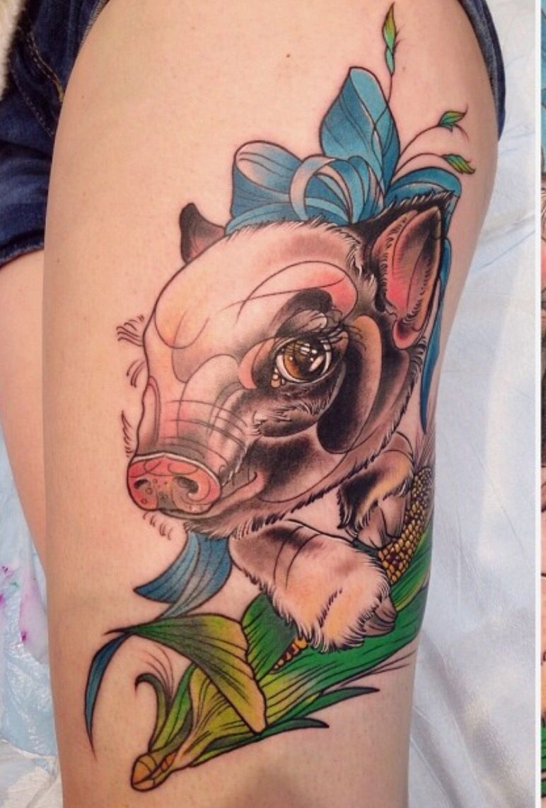 Route 66 tattoo picture at checkoutmyink com - Pig Tattoo More