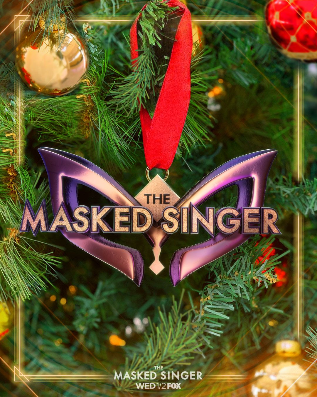 The Masked Singer Ornament Amazing Christmas Trees Singer Singing Competitions