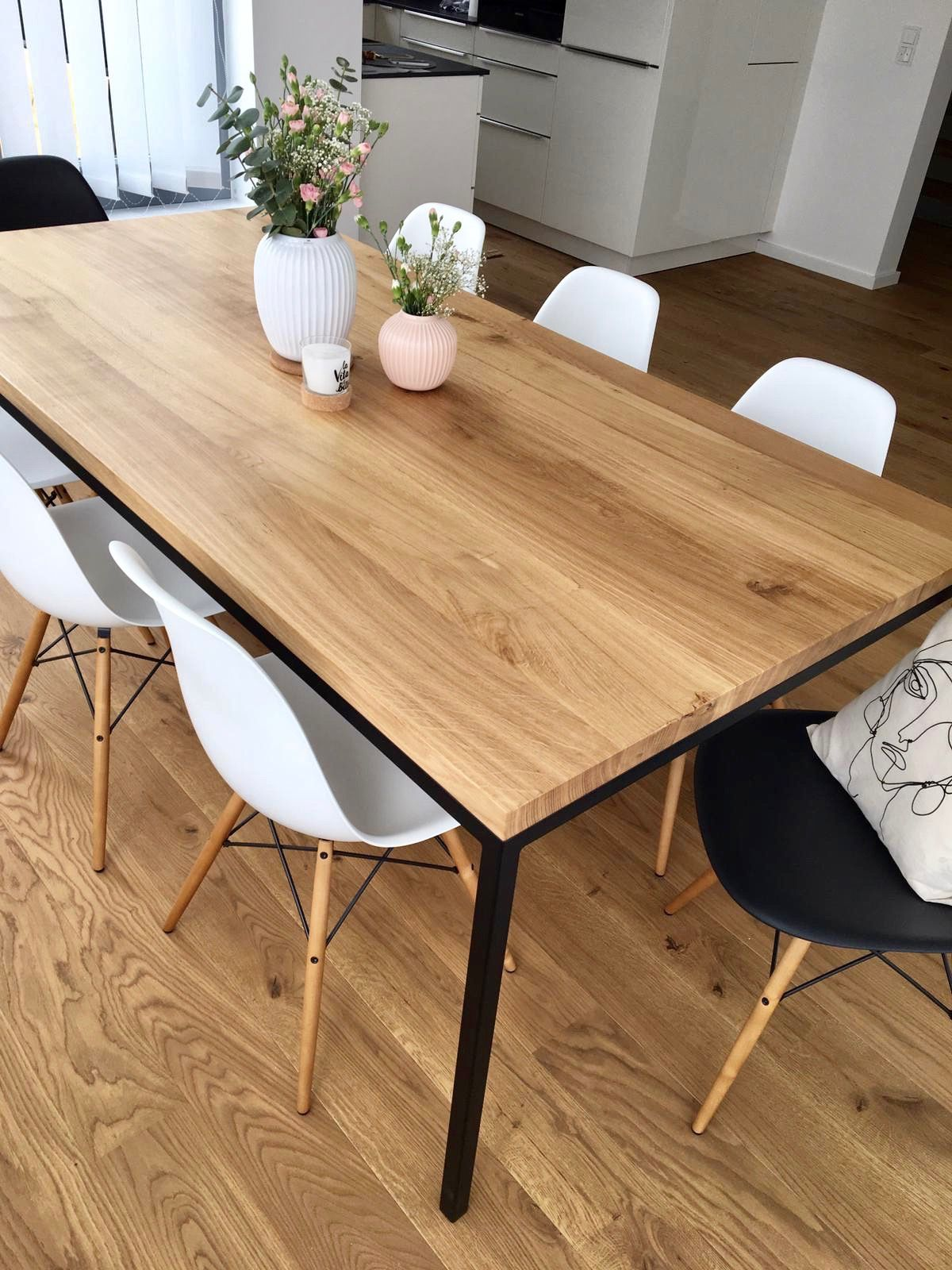 Massivholztisch Made In Germany Esszimmertisch Holztisch Eiche Tisch