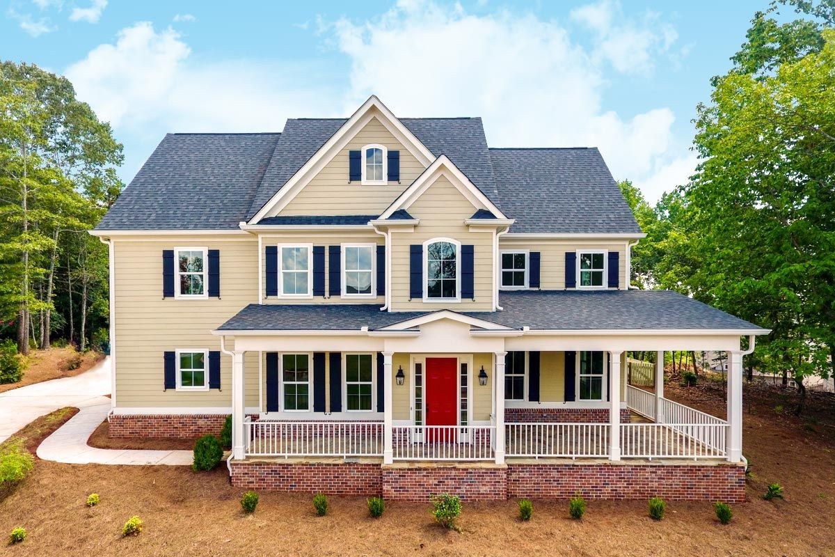 Plan 24384tw 4 Bed Traditional House Plan With Wraparound Porch And Bonus Room Farmhouse Style House Plans Farmhouse Style House Traditional House Plans