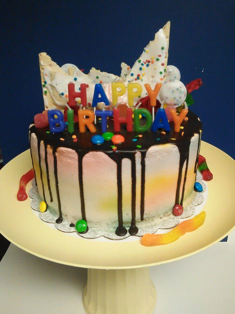 Brilliant Poptart Drip Cake Drip Cakes Cake Birthday Cake Funny Birthday Cards Online Aeocydamsfinfo