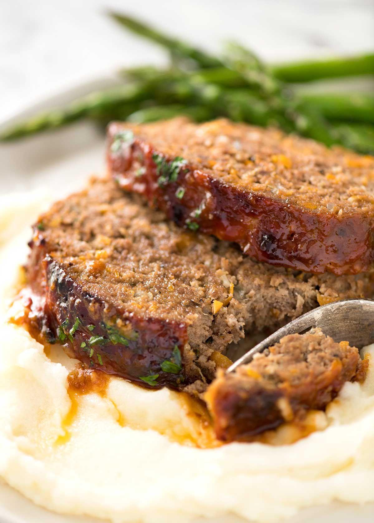 Meatloaf Recipe Extra Delicious Recipe Meatloaf Recipes Recipes Meatloaf